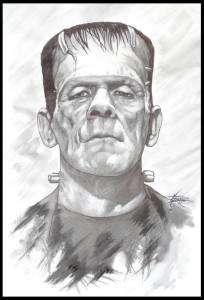 Visionando: el Doctor Frankenstein (1931)