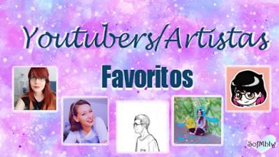 Top 5 Youtubers/Artistas Favoritos