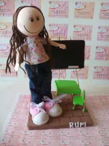Rufi es profesora de primaria.