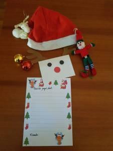 Carta para Papa Noel - Ideas navideñas - Mochila de Eric