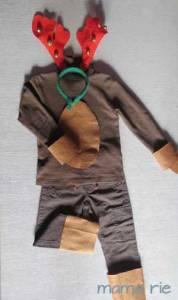 Te cuento cómo hice 26 trajes de Reno si perder la cordura, cosas de la Navidad