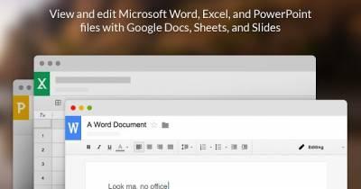Convierte Google Chrome en Editor de Documentos de Office.