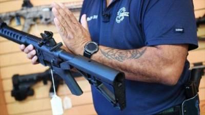 Guerra civil: Tasa de muertes por armas de fuego en EEUU alcanza nivel record.