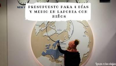 Presupuesto para viajar a Laponia a conocer a Papá Noel