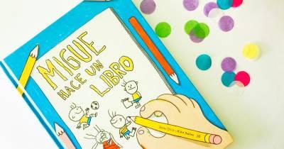 Migue hace un libro | Gololo y Toin: blog de maternidad, educación y niños.