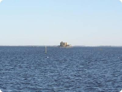 Laguna Melincué, espejo de agua de 12. 000 hectáreas en la provincia de Santa Fe.