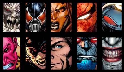 ¿Cuáles son los villanos de DC Comics?