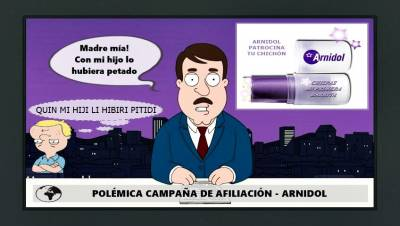 Arnidol y el marketing de Afiliación (Humor)