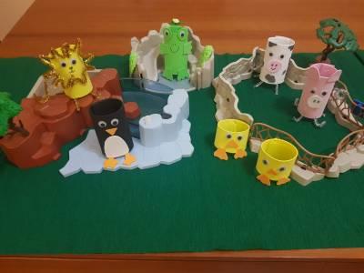 Animales con rollos de papel – Manualidades con niños
