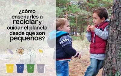 ¿Cómo enseñar a los niños a reciclar? ¿A partir de qué edad?