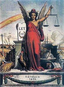 11 De Febrero De 1873 Primera República Española