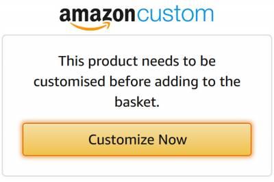 La reciente incursión de la compañía Amazon en la personalización de merchandising para empresas