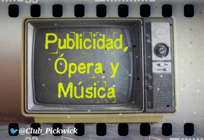 Letras Prestadas: Publicidad, Ópera y Música