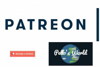 Patreon de Pello's World, encarado al libro - Pello's World