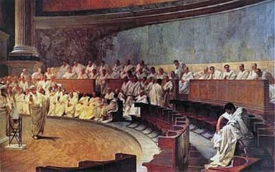 Cicerón vs Catilina: las Catilinarias