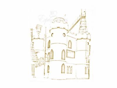 El castillo del parque del Retiro