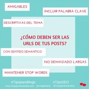 Consejos para crear las URLs de tus posts y mejorar el posicionamiento [INFOGRAFIA]
