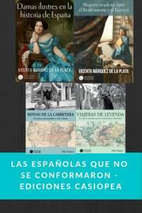 Las españolas que no se conformaron - Ediciones Casiopea - munduky