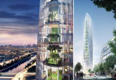 La futura torre verde de París
