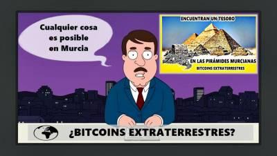 Encuentran un tesoro en las Pirámides Murcianas (Humor)