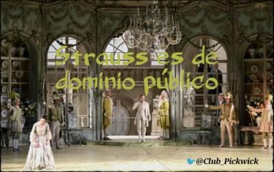 Letras Prestadas: Strauss es de dominio público