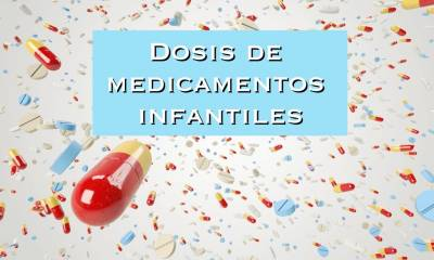 Dosis de medicamentos infantiles