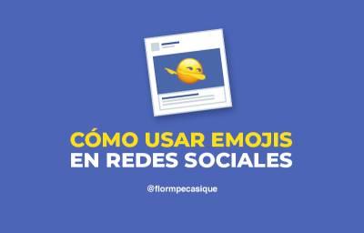 Cómo usar emojis  para destacar publicaciones en redes sociales ✓