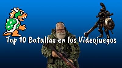 Top 10 Batallas en los Videojuegos