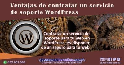Servicio de mantenimiento WordPress, un seguro de salud para tu web o tienda online