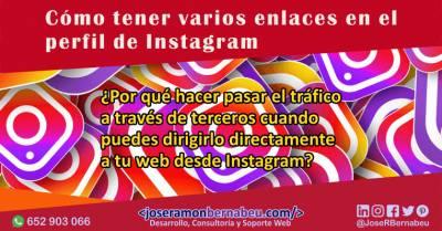 Cómo poner varios enlaces en el perfil de Instagram de forma eficiente
