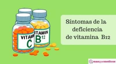 5 signos de deficiencia de vitamina B12