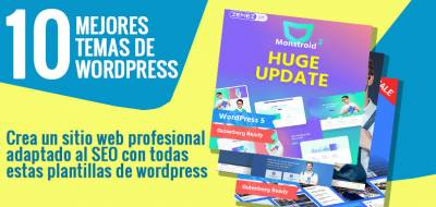 10 Temas de WordPress que te convertirán en un blogger popular