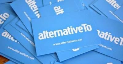 AlternativeTo, encuentra alternativas de software, websites, entre otros.
