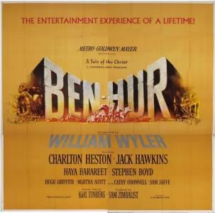 El momento de esta ocasión será para: Ben-Hur – Mis momentos en las películas