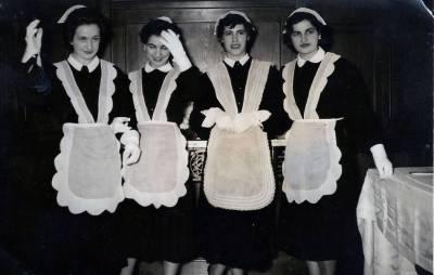 Señoras Y Criadas, Entre Mujeres Blancas.