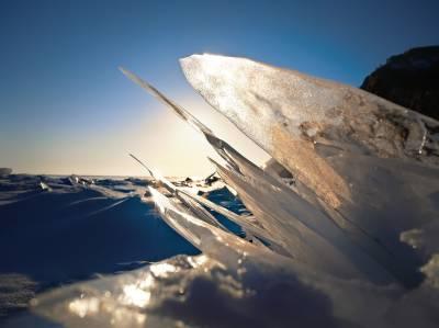 Che-niata. Motivos para correr sobre un lago helado