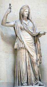 Hera, hermana y esposa de Zeus