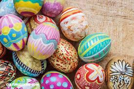 Costumbres y Tradiciones 'Huevos de Pascua cristianos'