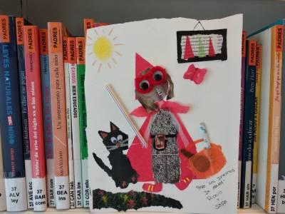 Caperucita Roja a través de los cuentos y el collage