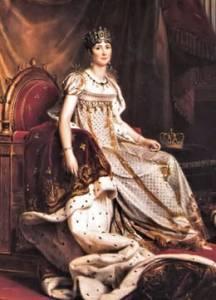 Josefina y Napoleón Bonaparte
