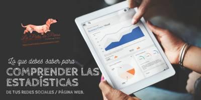 Lo que debes saber para Comprender las estadísticas de tus redes sociales / Página Web