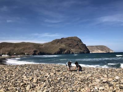 #MiércolesMudo – Playa de Las Negras #CabodeGataNijar #Almeria