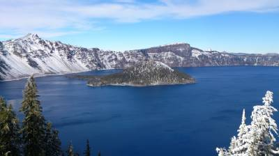Crater Lake, el agua más pura del mundo