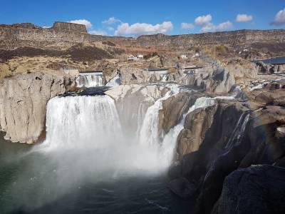 Shoshone Falls, las Niágara del Oeste