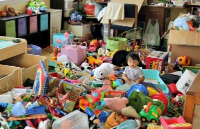 Mi mundo y mi maternidad: El método KonMari cuando tienes un bebé