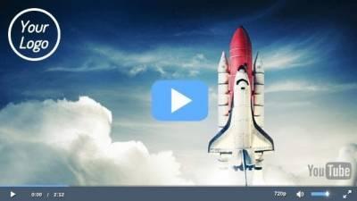 Crea un reproductor de video personalizado en tu sitio web.