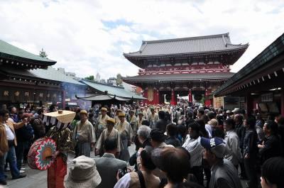 El Sanja Matsuri y la Yakuza japonesa.