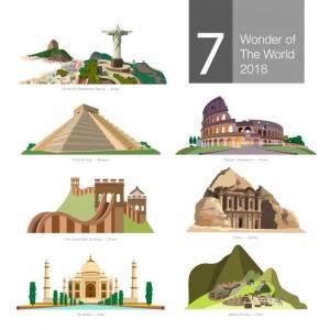 Las 7 Maravillas Del Mundo: En La Antigüedad, En La Edad Media Y En La Actualidad