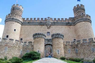 Castillo de los Mendoza   Manzanares el Real