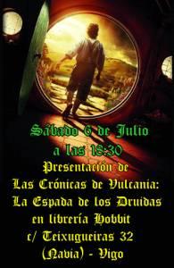 Presentación Oficial De La Espada De Los Druidas